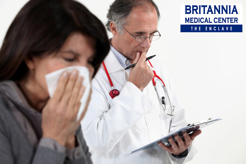 BRITANNIA MEDICAL CENTER - The Enclave: ARE COUGH AND COLD A