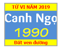 Tử Vi Tuổi Canh Ngọ 1990 Năm 2019 Nam Mạng  - Nữ Mạng