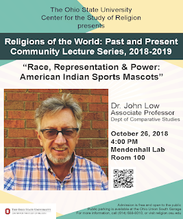Religions of the World: Past and Present Community Lecture Series, 2018-2019 Flyer. The Ohio State University Center for the Study of Religion