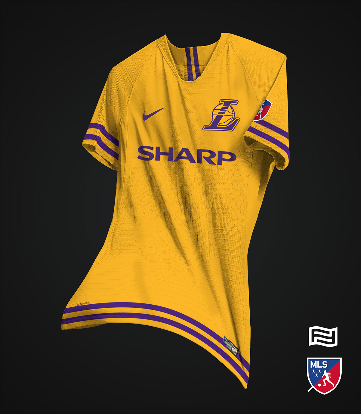 15bdcd550d0 Tremendous - 46 Unique Nike NBA x MLS Concept Kits By Franco ...