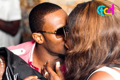 Dbanj caught on camera kissing an Unknown Lady At Tuface Idibia's Birthday Bash! 1