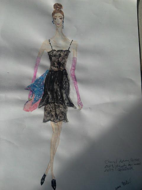 #fashionillustration #Chanel