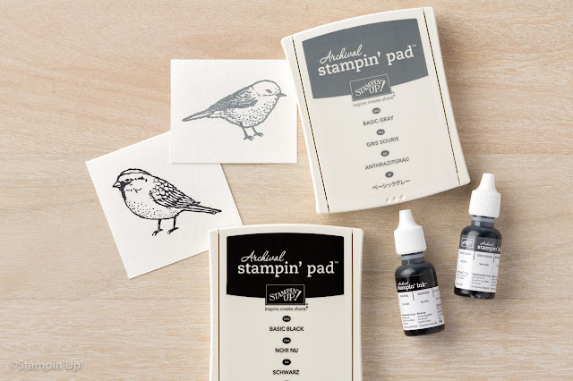 Stampin' Up! Archival Stamp Pads