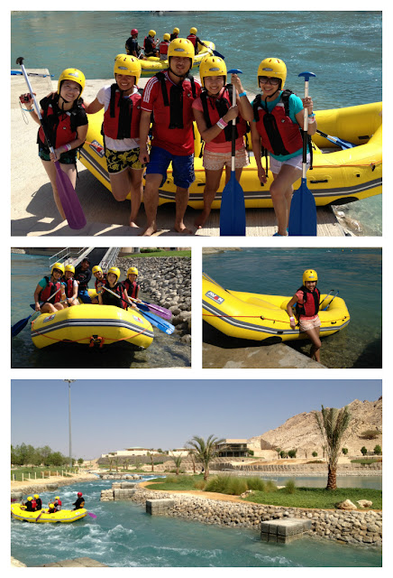 Wadi Adventure prior whitewater rafting