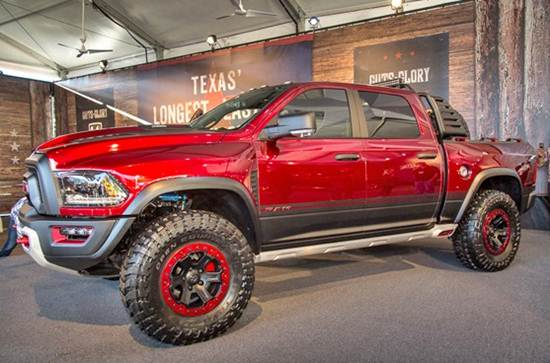 2017 RAM Rebel TRX Concept Truck
