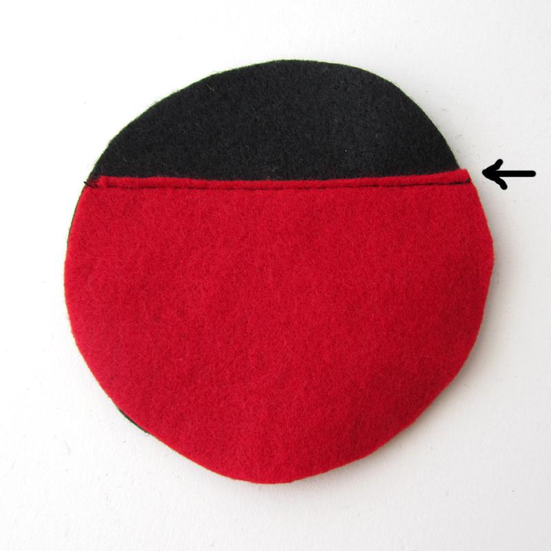Wondrous Modern Handmade Child Create Ladybug Bean Bags Creativecarmelina Interior Chair Design Creativecarmelinacom
