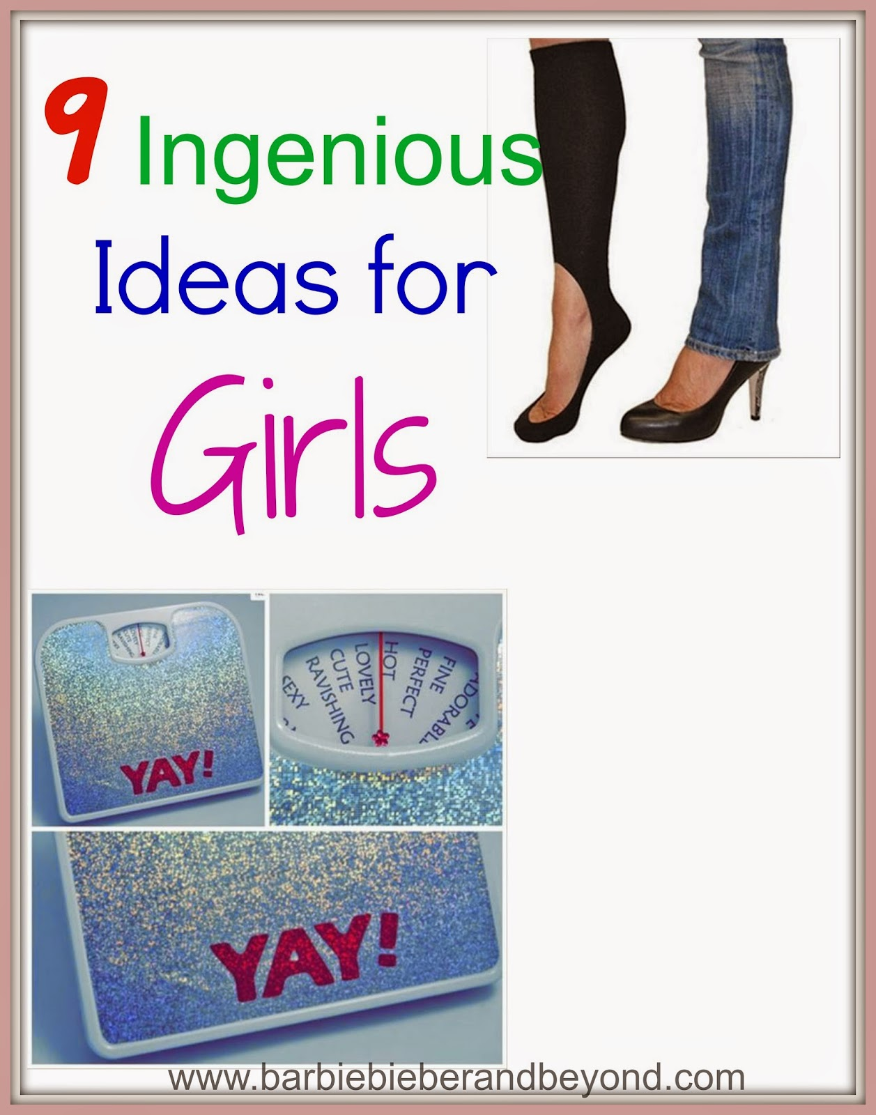 9 Ingenious Ideas and Products - For Girls