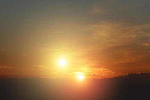 Zwei Sonnen Am Himmel 2021