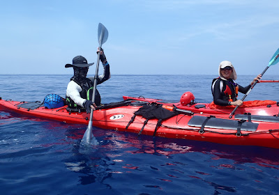 Nigel Foster image of dark blue open ocean water in Taiwan
