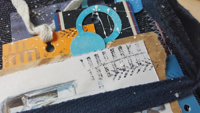 мини-альбом, из крафта, с машинками, самодельный фон