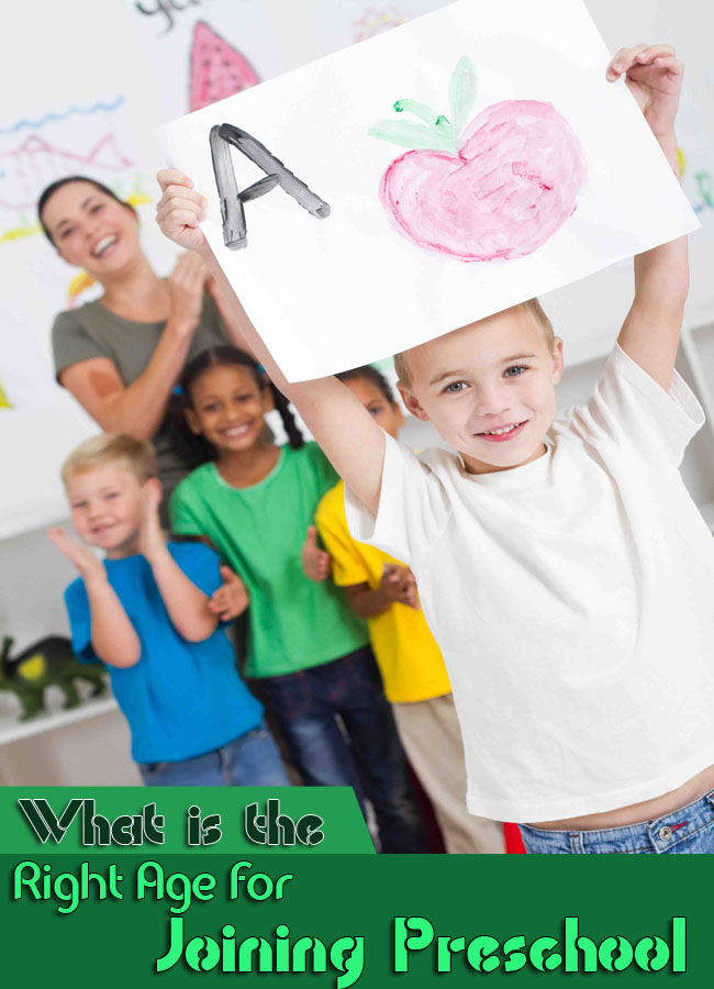 What is the Right Age for Joining Preschool