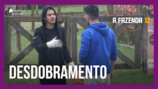 A Fazenda 12 - Biel e JP falam sobre discussão - Victória conversa com Rodrigo