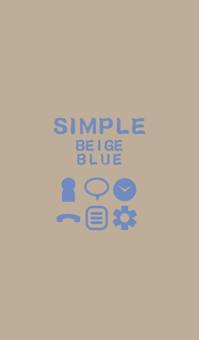 SIMPLE beige*blue