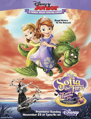 Sofia The First The Curse Of Princess Ivy 2014 DVD R4 NTSC Latino
