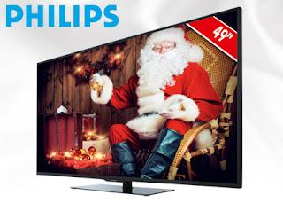 Telewizor Philips 49PUS6031 /12 LED 4K Ultra HD Slim Smart TV z Biedronki