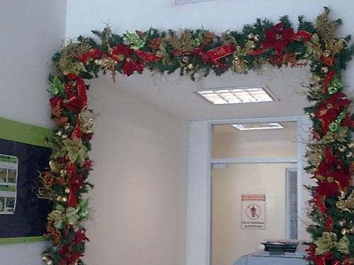 Envio de flores mexico guirnaldas navide as arboles de - Decoracion de guirnaldas ...