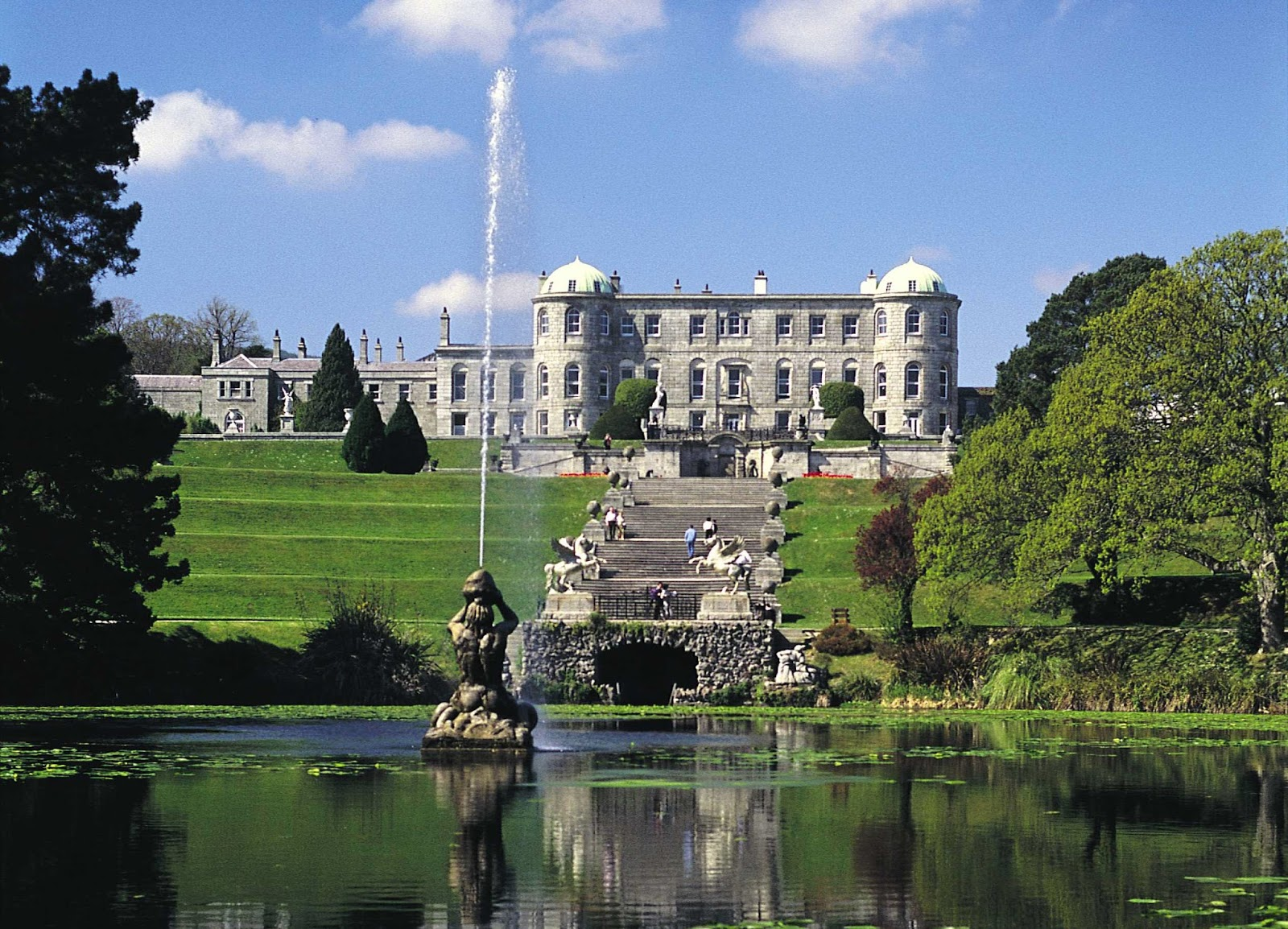 Weddings At Powerscourt House Gardens