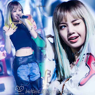 BlackPink Lisa Photos on the stage