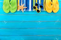 Verano, playa y piscina