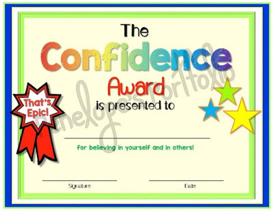 The Confidence Award