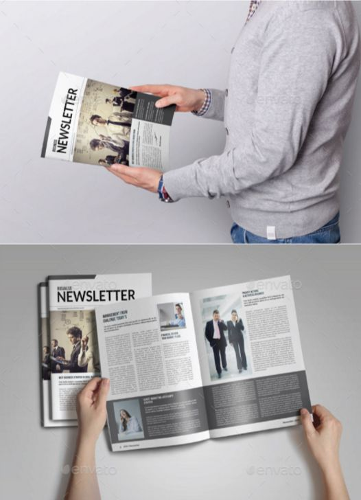 60. Indesign Newsletter Template