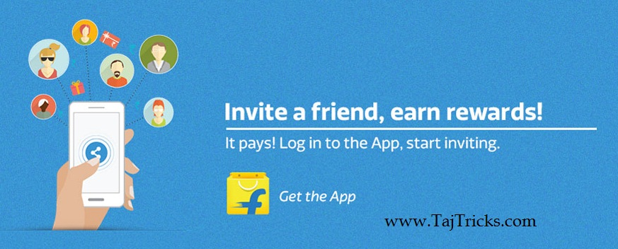 Flipkart-refer-and-earn-Rs25-free