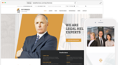 Defender-Attorney & Lawyer Wordpress Theme