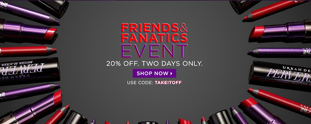 20% Off Urban Decay, By Barbies Beauty Bits