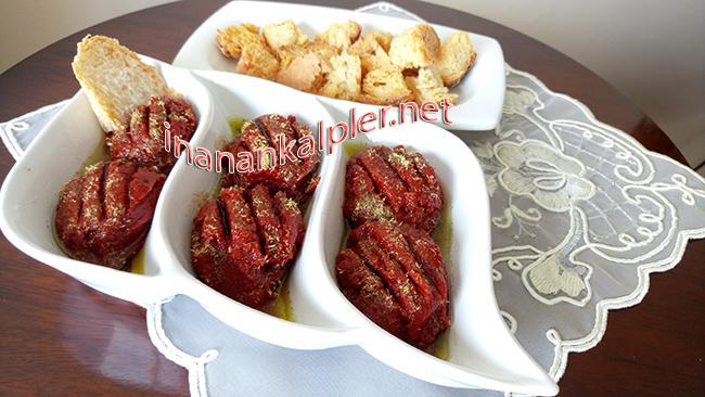 Kekikli Ve Zeytinyağlı Kahvaltılık Salça-www.inanankalpler.net