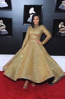 Ashanti At Grammy 2018 Awards In New York