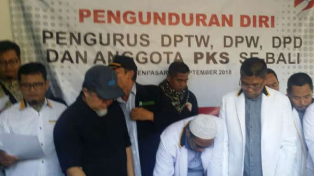 Ini Alasan DPW PKS Bali Ramai-ramai Mundur