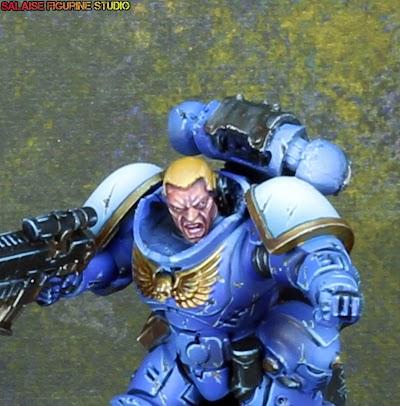 [Ultramarine] Lieutenant primaris.