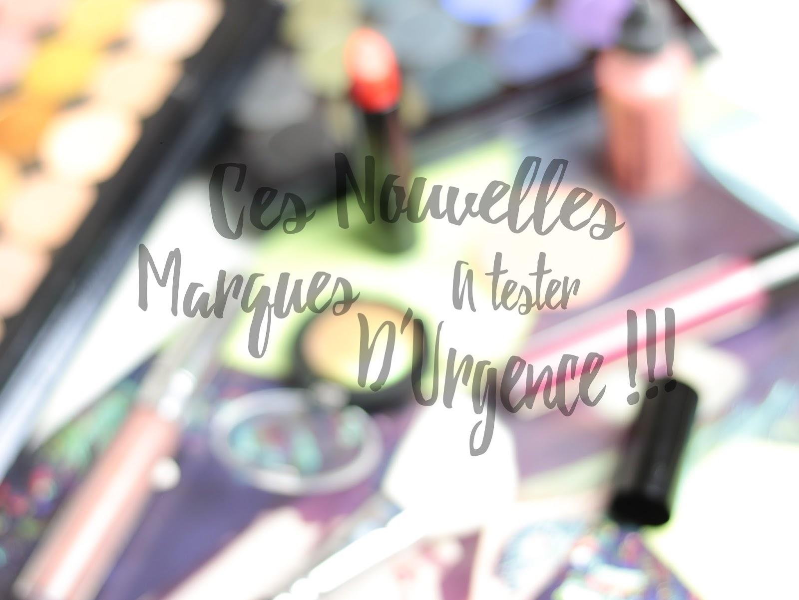 Ces nouvelles marques à tester d'urgence !!! Indie Beauty Brands Marques Maquillage Indie