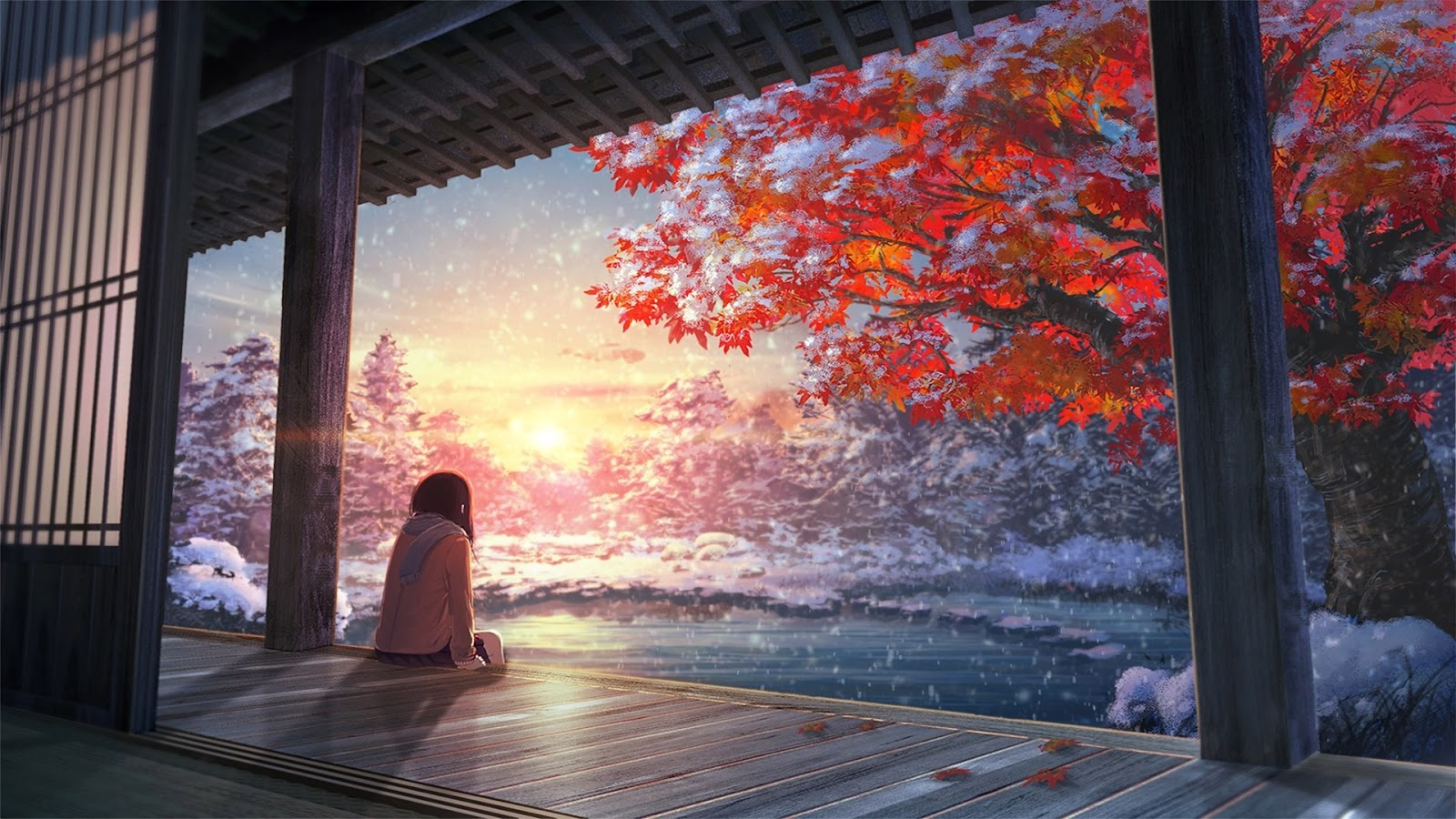 Anime Landscape 1920 x 1080