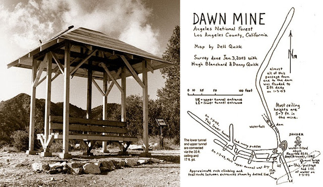 This a rebuilt version of the origninal Dawn Mine Station which burned down in 1998.