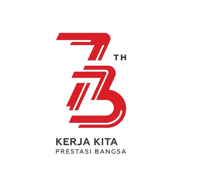 Logo yang sudah diresmikan 17 Agustus 1945 terbaru di hari Kemerdekaan RI Ke 73 Tahun 2018