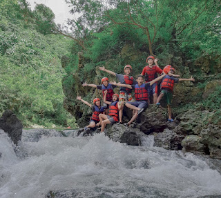 Tips ketika body rafting di green canyon Pangandaran