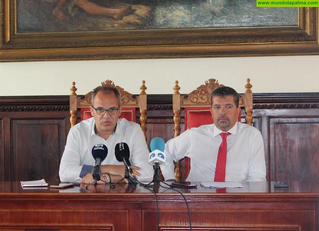 El alcalde y el primer teniente de alcalde presentan el pacto de gobierno para esta legislatura