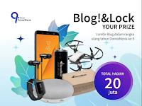[Gratis] Lomba Menulis Blog Nasional 2018 di DomaiNesia