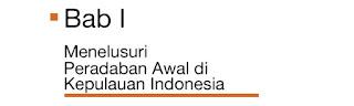 Tujuan Pembelajaran BAB I Sejarah Indonesia X - Menelusuri Peradaban Awal di Indonesia