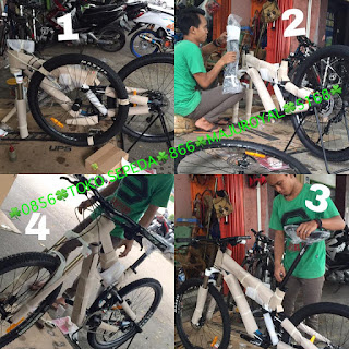 Cara Merakit Sepeda Mtb inbox Asli Pabrik