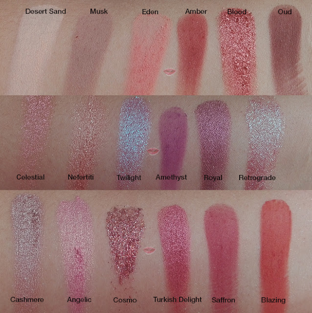 A picture of Desert Dusk swatches