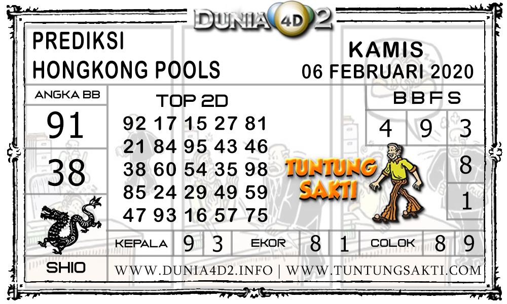 Prediksi Togel HONGKONG DUNIA4D2 06 FEBRUARI 2020