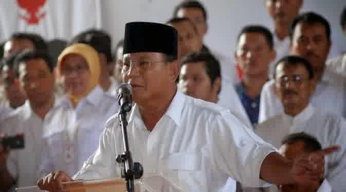 Prabowo Sindir Ahok Kutu Busuk dan Kutu Loncat