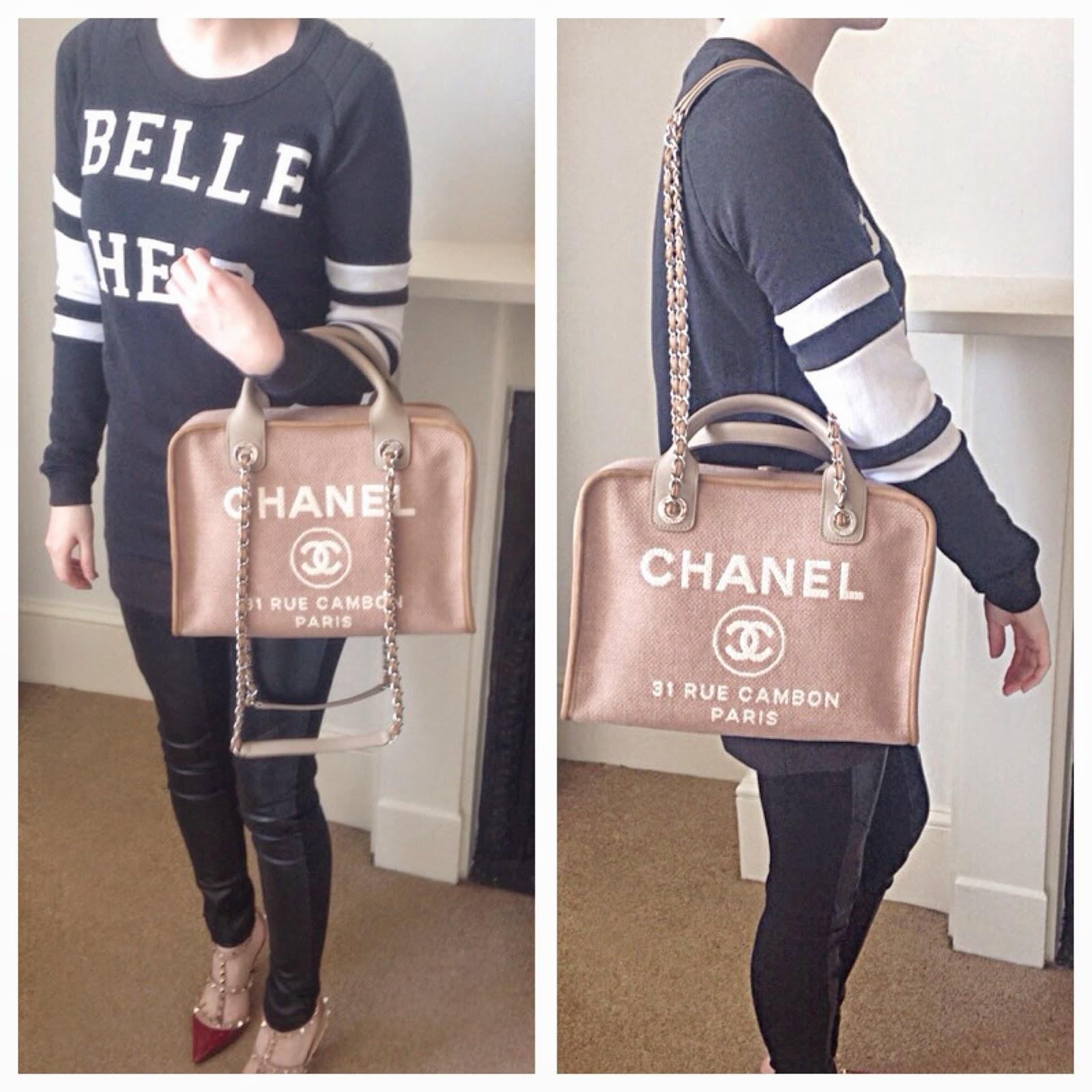 Harga Jual Chanel Deauville Terbaru 2018 Regulator Kompor Gas Dengan Metersniaman Awet Dan Efisien Rent Or Bowling Bag For The Ss15 Season Which Sa Showed Me On Her