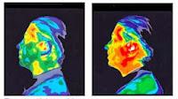 Riscaldamento del viso da onde di telefono cellulare