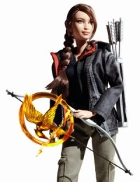 Mattel's Hunger Games Barbie Collectible Katniss Everdeen Doll