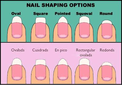 Nails By Irisr La Forma De Las Uñas