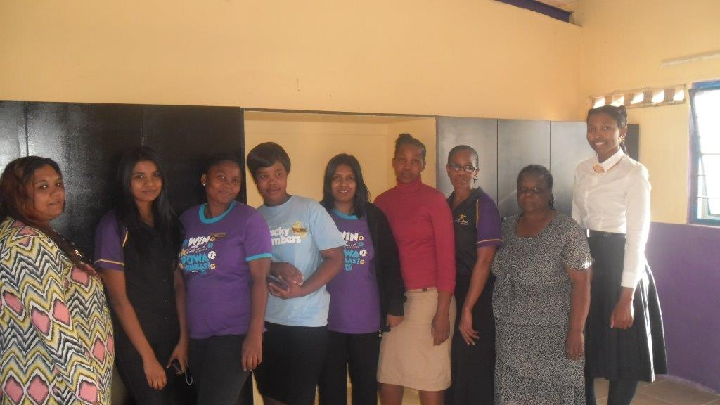Hollywoodbets Park continued their good work with Zamani Lakehaven Child and Youth Care Centre