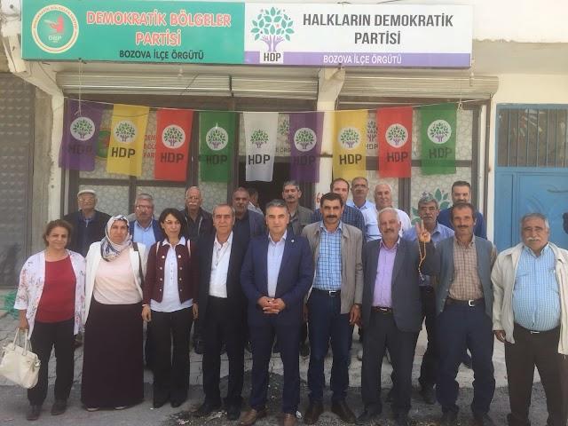 HDP Bozova'da seçim startını verdi